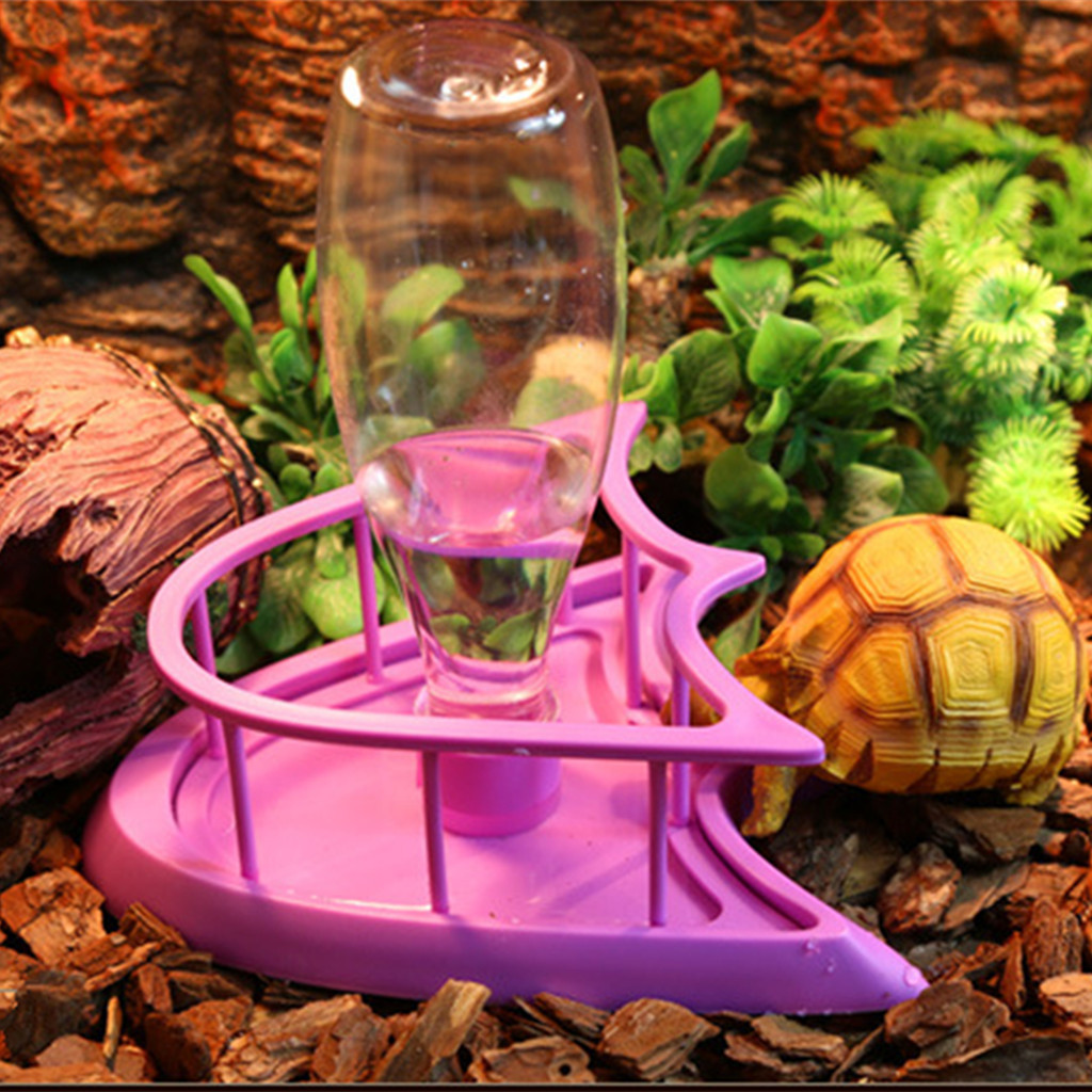 Dispenser otomatis air minum peliharaan merek BolehDeals - ungu