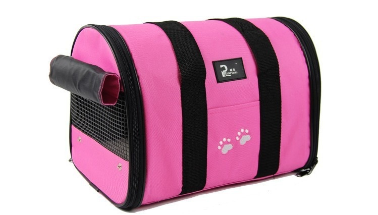 Dog Bag Dog Carrier Dog Carrier Bags for Small Dogs Comfort CarrierSoft-Sided Pet Travel Carrier- Small (Pink) - intl