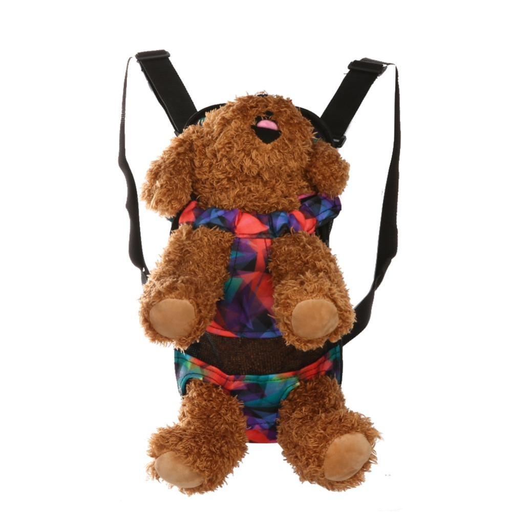 Dog Carrier Travel Dog Backpack Breathable Pet Bags Shoulder PetCarrier(Multicolor)-S - intl