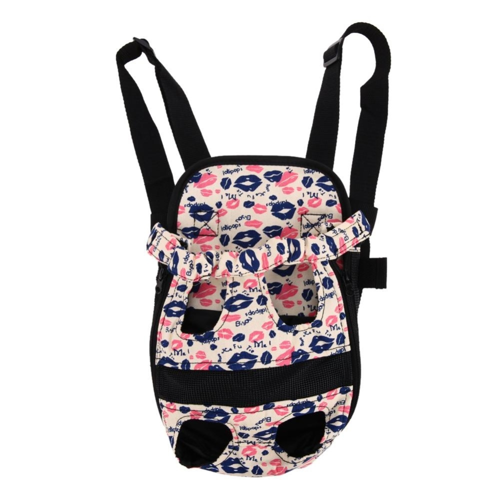 Dog Carrier Travel Dog Backpack Breathable Pet Bags Shoulder PetCarrier(Pink)-L - intl