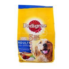 Dog Food / Makanan Anjing Pedigree Chicken & Vegetables 1,5 Kg