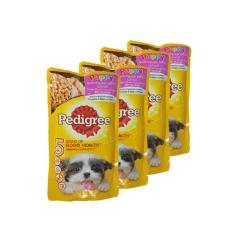 Dog Food / Makanan Anjing Pedigree Puppy Pouch 130 gram