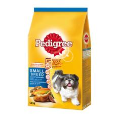 Dog Food / Makanan Anjing Pedigree Small Breed Chicken, Liver and Vegetables 1,5 Kg