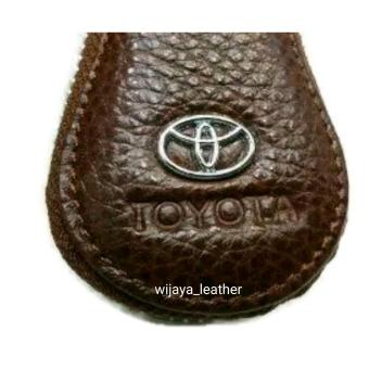 dompet kunci mobil / gantungan kunci mobil motor / dompet stnk kulit asli - 4