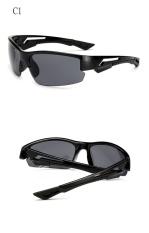 DOW AMOUR Hot Sale JAW Vintage Sunglasses Men Parkour Anti-Reflective UV400Brand Designer Goggles Sunglasses