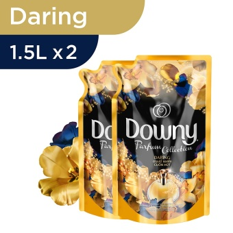 Harga Downy Daring Refill  1.5L - PACK OF 2