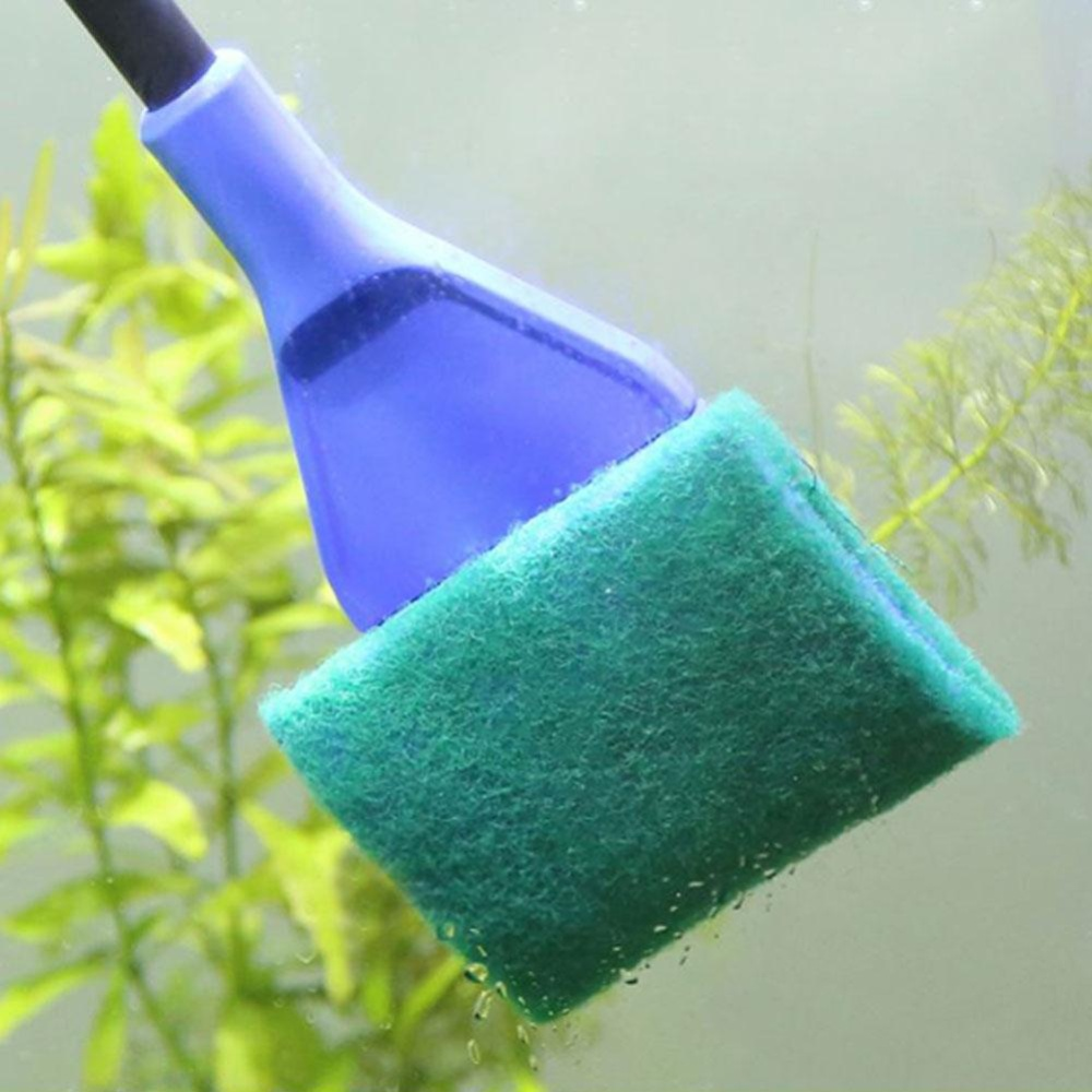 Eachgo 5 in1 Aquarium Brush Cleaning Tools Fish Tank Algae VacuumGravel Cleaner - intl