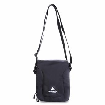 Eiger Shoulder Bag Transform Pouch - Hitam
