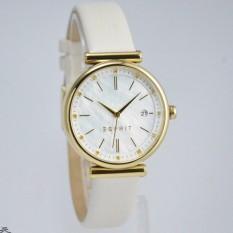 Esprit - Jam Tangan Wanita - Kulit - Putih - ES108542003