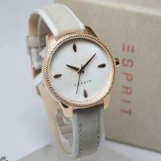 Esprit - Jam Tangan Wanita - Kulit - Putih - ES108602003
