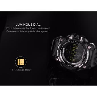 EX16 Xwatch Bluetooth Smart Watch Professional Waterproof IP67Podometer Health Fitness Tracker Sports Smartwatch for Phone - intl