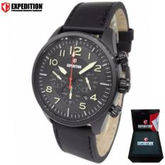 EXPEDITION Exp 6670 - Jam Tangan Pria - Jam Tangan Analog - Hitam EXP 1002-01