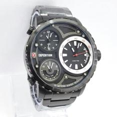 Expedition Triple Time - E 6718 - Jam Tangan Pria