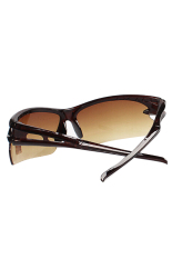 Fang Fang Polarized Night Vision Driving UV 42020 Eyewear Glass (Coffee)