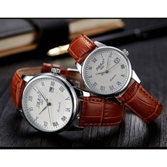 Fashion Business style Watch for Women?Coffee/White? - intl