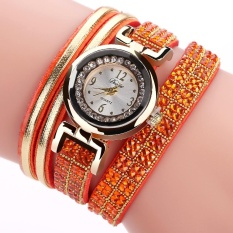 Female hand watch fashion watch with a diamond velvet hand trends in Europe and America South