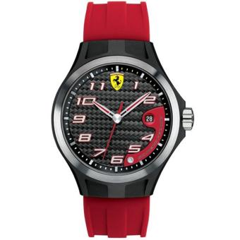 Ferrari Jam Tangan Pria Ferrari 0830014 SF102 Lap Time Rubber Watch