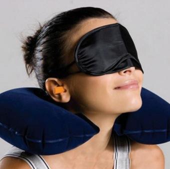 Fortune Travel Pillow Bantal Leher Tiup