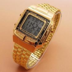 Fortuner Jam Tangan Wanita Terbaru - Strap Stainless steel - Gold - FR 4033
