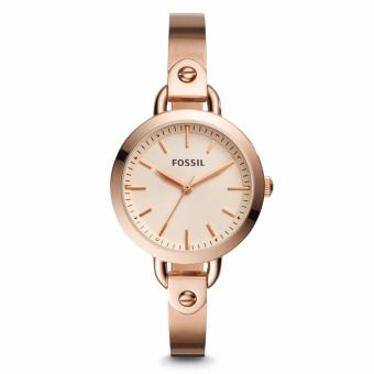 Fossil Classic Rose Gold – Tone Stainless Steel Watch, BQ 3026
