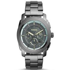 Fossil Jam Tangan Pria - Stainless Steel - Black - FS 5172 Black