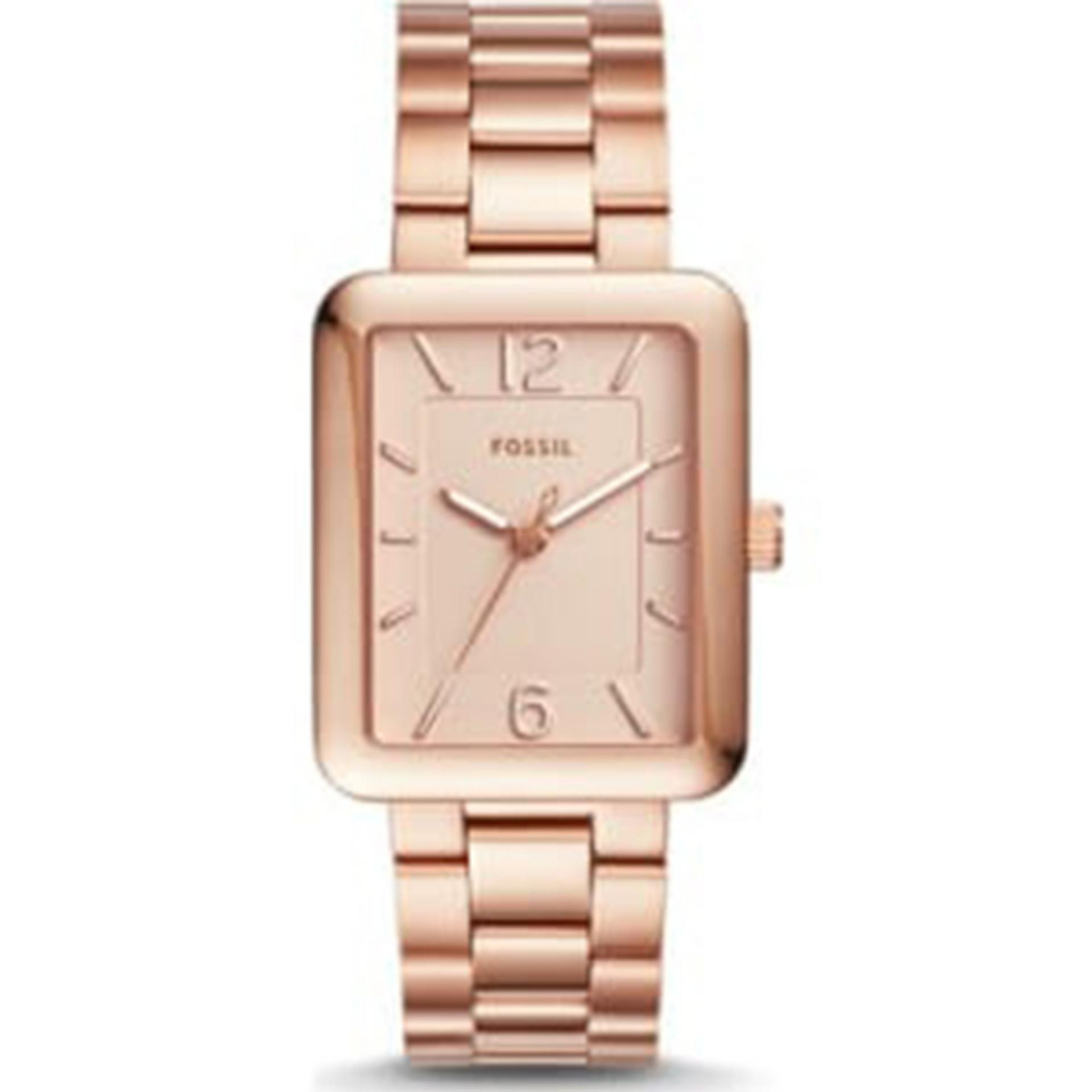 Fossil ES2811 Riley Multifunction Rose-Tone Stainless Steel Watch. Source ... Fossil