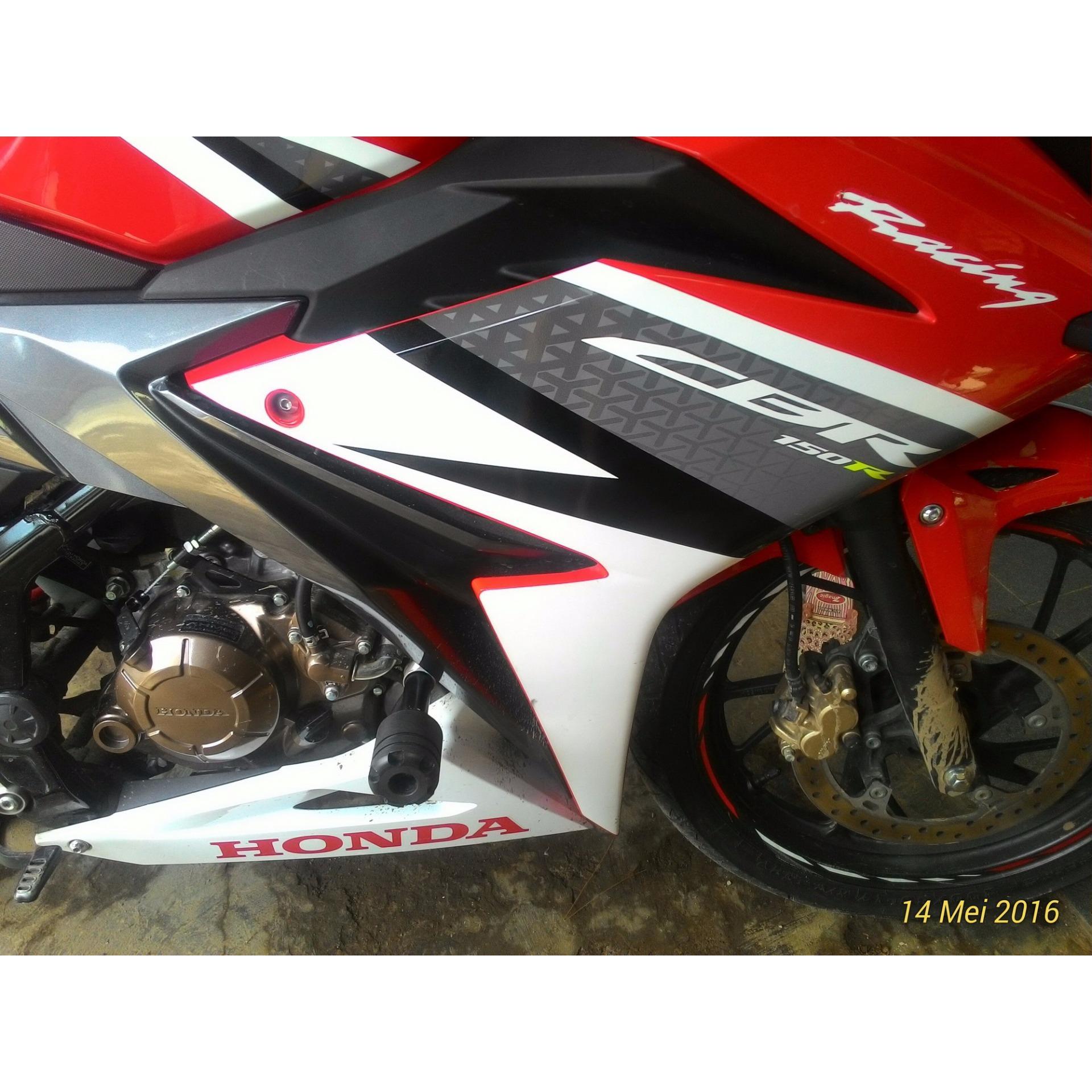 Jual Murah Obral Sticker Body Kiri Red White New Cbr 150r K45g Cable Comp B Throttle Kabel Gas 17920k45n41 Honda All Repsol Edition Otr Jakartatangerangbanten