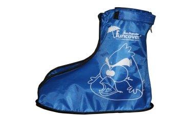 Funcover Jas Sepatu Junior - Biru