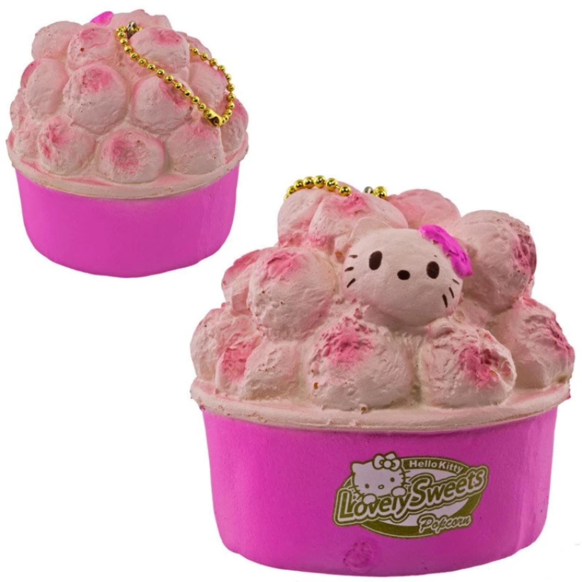 Gantungan Kunci Hello Kitty Squishy Seri Lovely Sweets - PopcornStroberi .