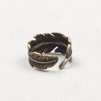 harga Gaoqiaowulang retro ekor pria dan wanita bulu cincin Lazada.co.id