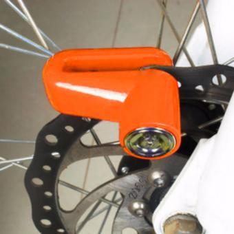 Gembok Cakram Tipe C-045 - Kunci Cakram - Kunci Disk - Disc Brake Lock Ring Pendek - Coklat - 3