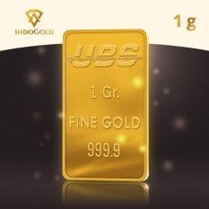 Gold Logam Mulia Emas UBS Untung Bersama Sejahtera 1 Gram