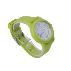 GOOD MINGRUI Creative Luxury Wrist Watch Rubber Strap QuartzWristWatch 8820 green(Not Specified)(OVERSEAS) - intl