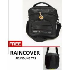 Grab-B Selempang free Raincover 067R- Hitam .