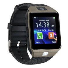 Great Smartwatch DZ09 Bluetooth with SIM Card and Micro SD slot for Android Smartphone - Hitam