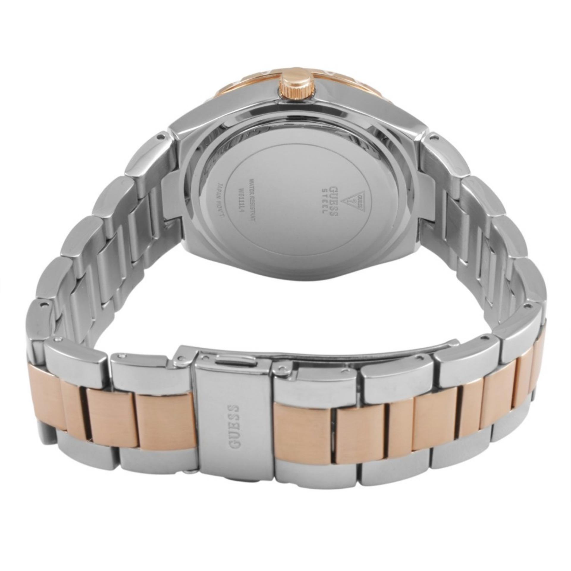 Guess W0335l3 Multifunction Jam Tangan Wanita Rosegold Stainless Steel W0111l4 Viva Silver Watch