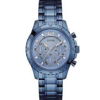 Guess U0704L2 - Jam Tangan Wanita - Multifunction - Blue