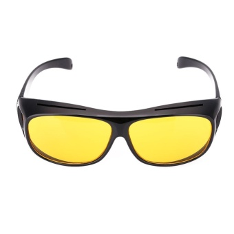 HD Yellow Lens Polarized Sunglasses UV400 Glasse For Men Driving Sports - intl