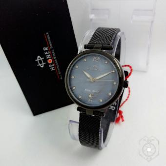 Hegner Original HGR1625 - Jam Tangan Fashion Wanita - Full Stainless Steel - Rantai Design Pasir
