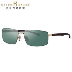 Helen Keller h8662 laki-laki driver mobil cermin baru kacamata hitam kacamata hitam