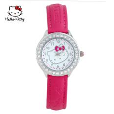 Hello Kitty gadis jam tangan siswa menonton anak-anak menonton