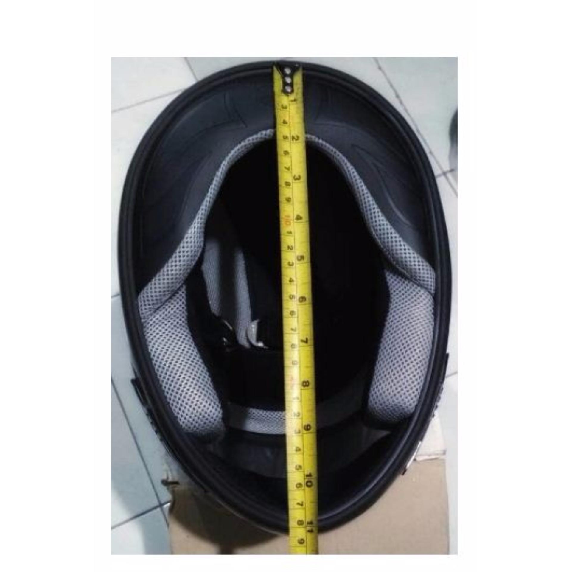 Daftar Harga Helm Full Face New Suzuki Thunder Terendah Snail Mx309 Motocross Motif Skull Hitam Kilap