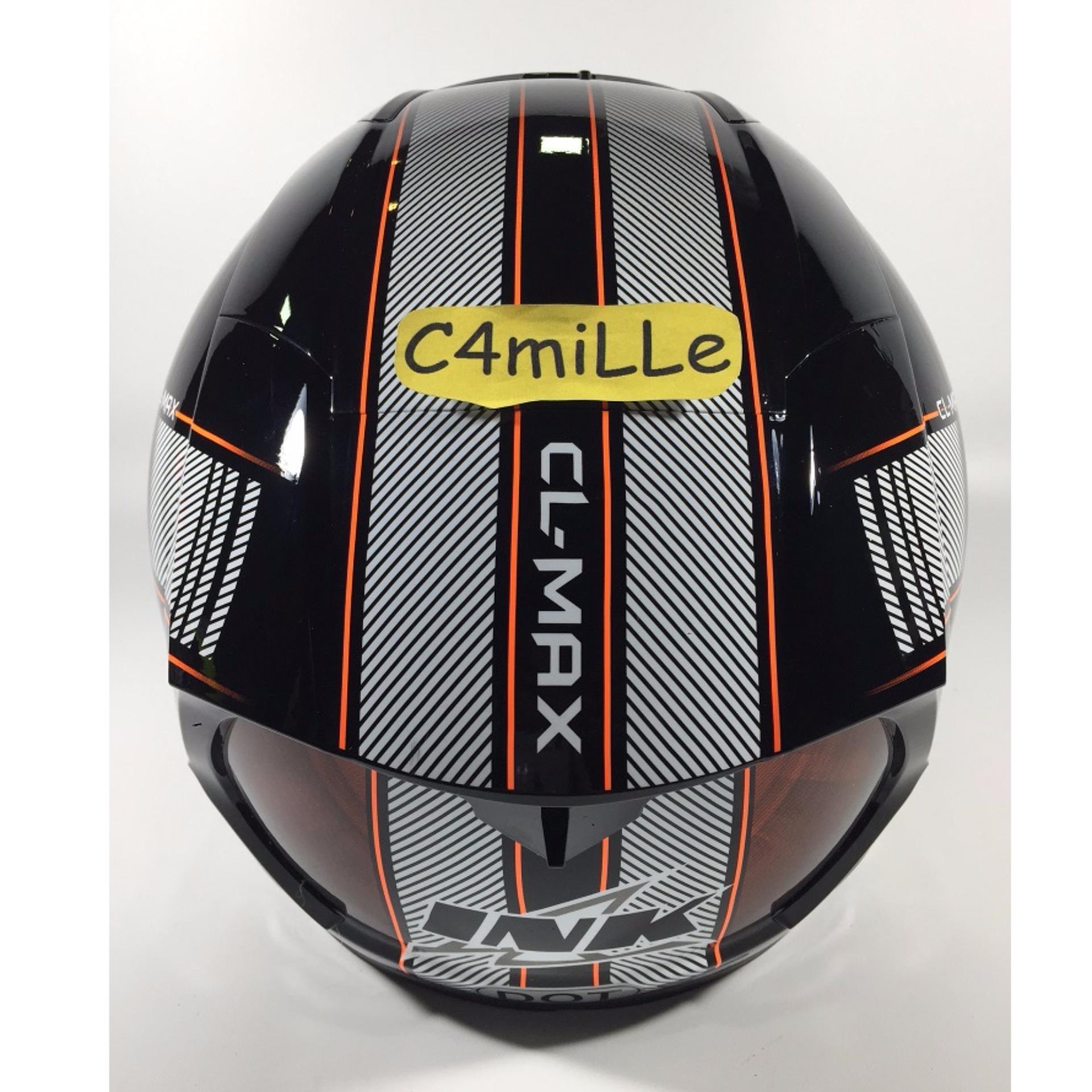 Snail Helm Modular Single Visor Ff991 Motif Kartun Daftar Harga Full Face Mx309 Motocross Skull Hitam Kilap Ink Cl Max 4 Black Orange