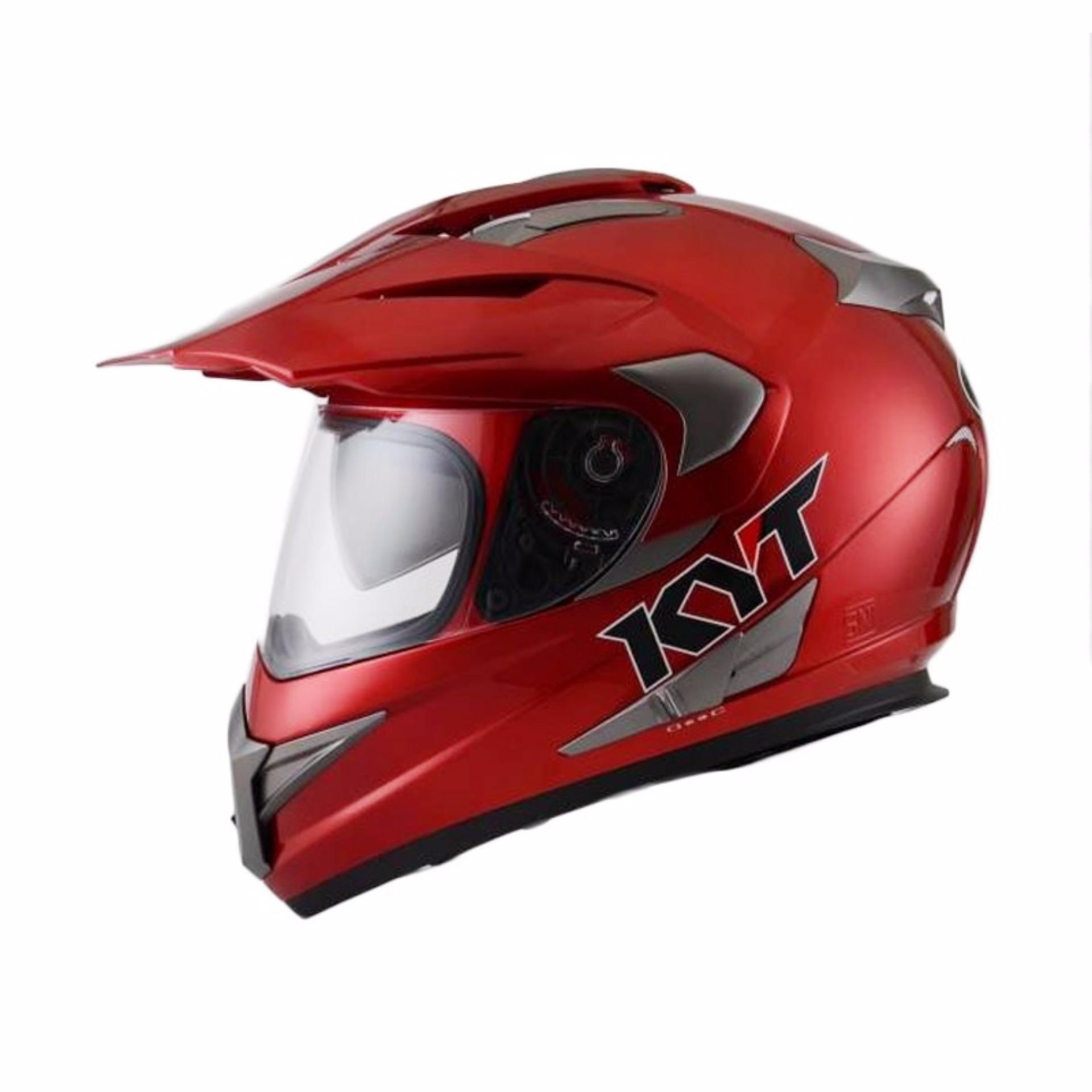 ... Helm KYT Supermoto Enduro Series ...