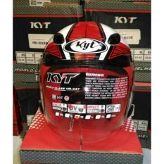 Helm KYT DJ MARU MOTIF #9 red