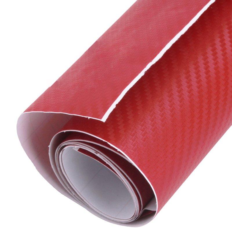 Yingwei 3d Carbon Fiber Vinyl Car Wrap Sheet Roll Film Sticker Decal