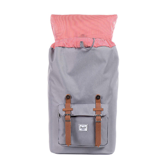 Detail Gambar Herschel Little America Classic Backpack - Abu-abu Terbaru