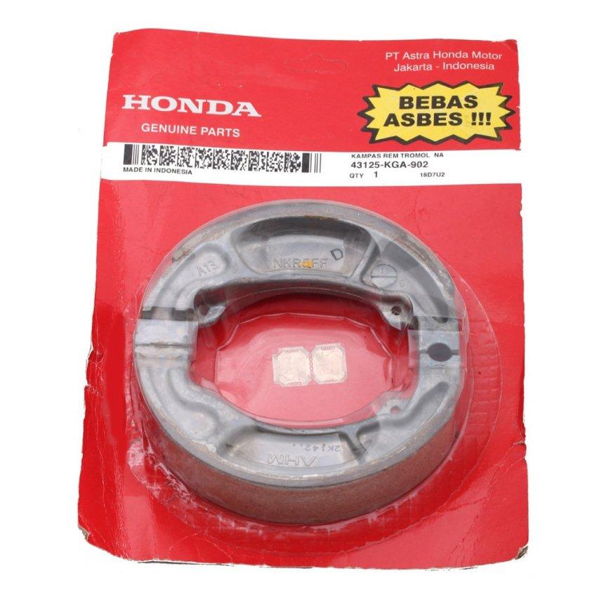 Honda Genuine Parts Suku Cadang Motor Kampas Rem Tromol Original 43125KGA902