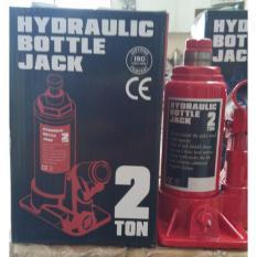 Hydraulic bottle jack 2 ton (dongkrak botol 2 ton)