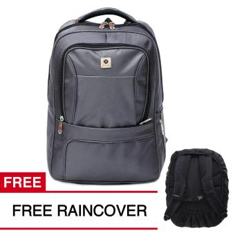 Gear Bag - Silver Swarms Edition Tas Laptop Backpack + FREE Raincover SS01